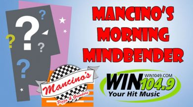 Mancino's Pizza And Grinders Morning Mindbender Answers: 06-04 to 06-08