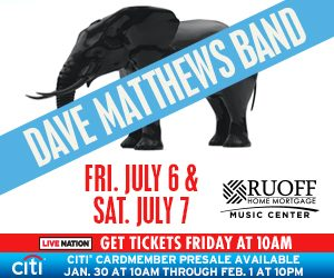 Dave Matthews Band Saturday Show @ Ruoff Home Mortgage Music Center | Noblesville | Indiana | United States