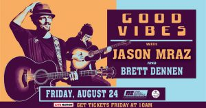 Jason Mraz and Brett Dennen @ Farm Bureau Insurance Lawn at White River State Park | Indianapolis | Indiana | United States