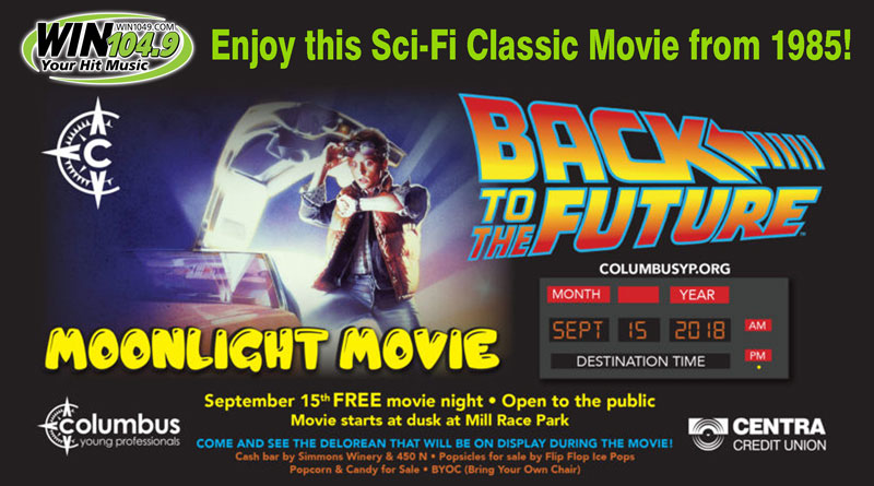CYP Moonlight Movie - Back to the Future