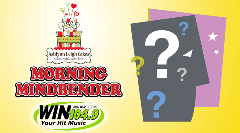 Morning Mindbender Answers 3-30 to 4-3