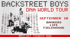 Backstreet Boys - DNA World Tour @ Bankers Life Fieldhouse | Indianapolis | Indiana | United States