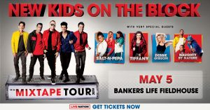New Kids On The Block - The Mixtape Tour @ Bankers Life Fieldhouse | Indianapolis | Indiana | United States