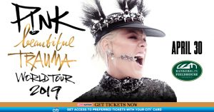 P!nk - Beautiful Trauma World Tour @ Bankers Life Fieldhouse | Indianapolis | Indiana | United States