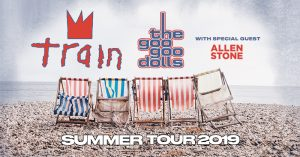 Train and Goo Goo Dolls @ Ruoff Home Mortgage Music Center | Noblesville | Indiana | United States