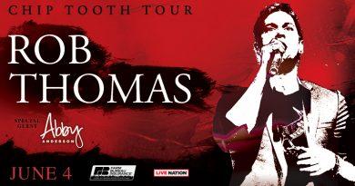 Rob Thomas Coming To Indianapolis Summer 2019!