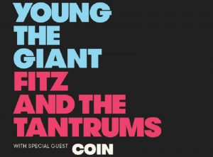 Young The Giant & Fitz and The Tantrums @ Farm Bureau Insurance Lawn at White River State Park