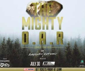 The Mighty O.A.R. Summer Tour 2019 With American Authors @ Farm Bureau Insurance Lawn at White River State Park