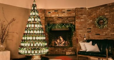 Jameson Whiskey Giving Away A Whiskey Christmas Tree
