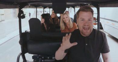 James Corden Does Friends 'Carpool Karaoke'